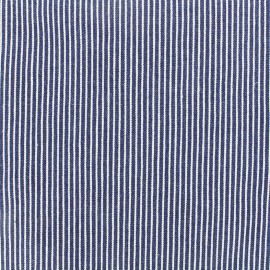 Jeans fabric Matelot - navy x 10cm