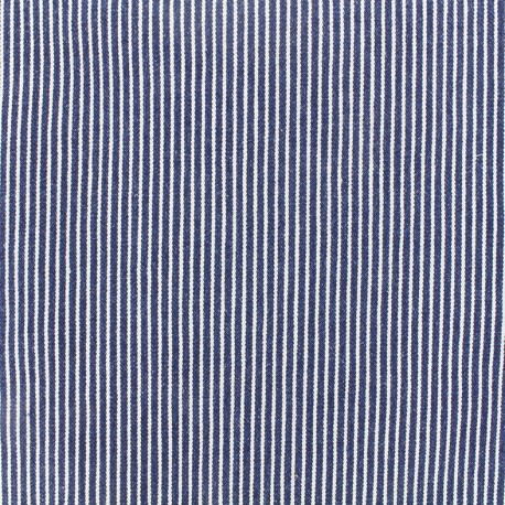 Tissu jeans Matelot - marine x 10cm