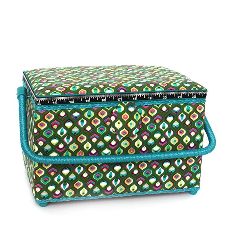 bo te couture vintage vert ma petite mercerie. Black Bedroom Furniture Sets. Home Design Ideas