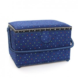 Sewing box Constellation - royal blue