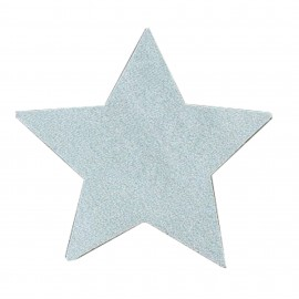 Iron-on patch Star FrouFrou - Sparkling Silver