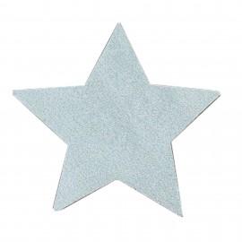 Thermocollant étoile tout ce qui brille FrouFrou - Argent scintillant