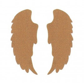 Thermocollant ailes tout ce qui brille FrouFrou - Rose cuivre scintillant