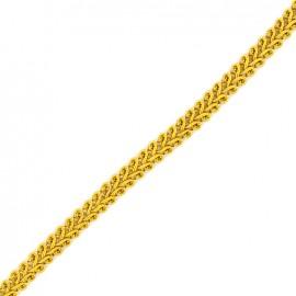 Galon Mini Épi de blé 5 mm  x 1 m - Jaune Soleil