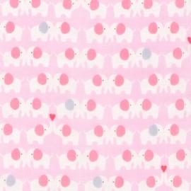 Cotton fabric  Sevenberry Comfy Double Gauze - Elephants x 10cm