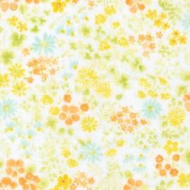 Cotton fabric  Sevenberry Comfy Double Gauze - Summer x 10cm