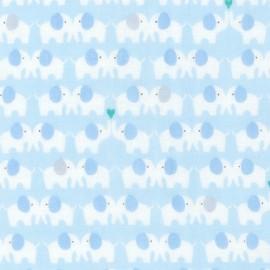 Cotton fabric  Sevenberry Comfy Double Gauze - Sunshine Sky x 10cm