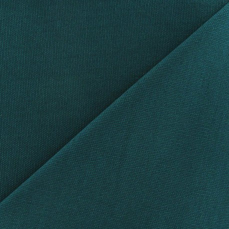Cotton canvas fabric Delson - teal x 10cm