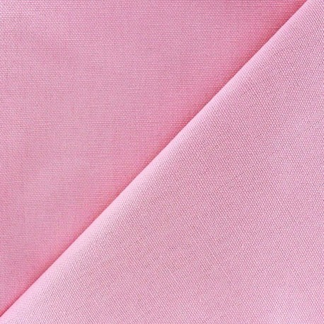 Cotton canvas fabric Delson - candy pink x 10cm