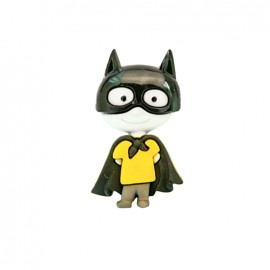 Petit hero polyamide button - batman