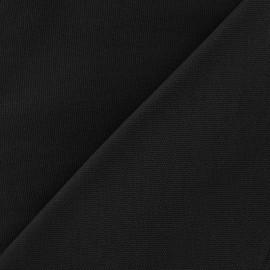 Cotton canvas fabric Delson - black x 10cm