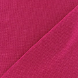 Cotton canvas fabric Delson - fuchsia x 10cm