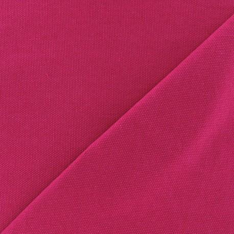 Cotton canvas fabric Delson - fuchsia x 10cm