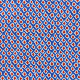 Tissu popeline souple Windsurf - bleu x 10cm