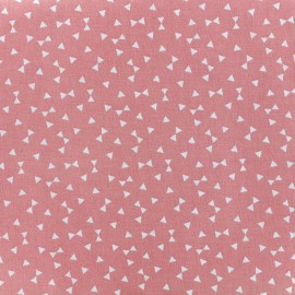 Yozid cotton fabric - coral x 10cm