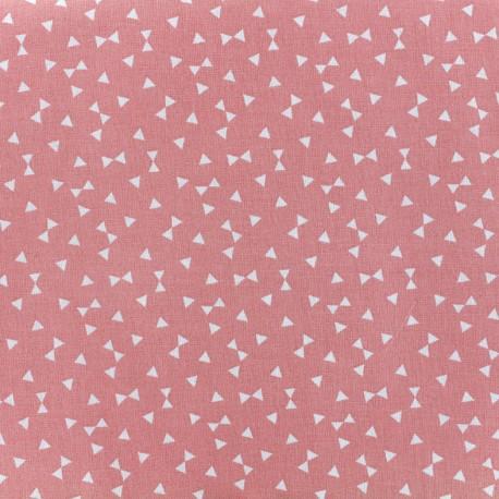 Yozid cotton fabric - coral x 10cm