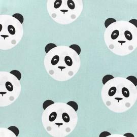 Cotton fabric Maotey - mint/black x 20cm