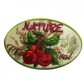 Motif Nature Cerise
