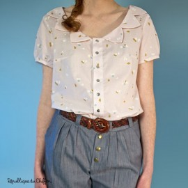 Sewing pattern République du Chiffon Blouse - Rose