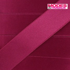 Luxery Satin Ribbon, double-sided - raspberry