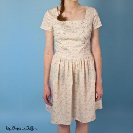 Sewing pattern République du Chiffon Dress - Marina
