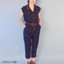 Sewing pattern République du Chiffon Jumpsuit - Dominique