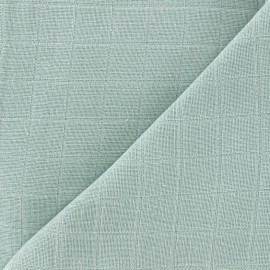 Tissu lange de coton Bébé lange bio-OEKO-TEX - tilleul x 10cm