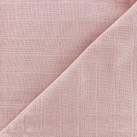 Oraganic cotton muslin Bébé lange fabric - dragée x 10cm
