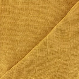 Tissu lange de coton Bébé lange bio-OEKO-TEX - miel x 10cm