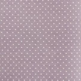 Tissu coton popeline Color Pois - Vieux Rose x 10cm