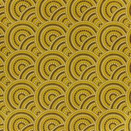 Tissu coton Sydney - gold x 10cm