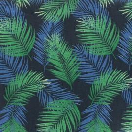 Cotton fabric Nassau - emeraude x 10cm