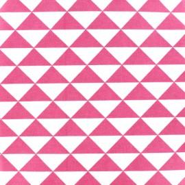 Tissu enduit coton Vintage - rose x 10cm