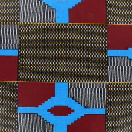 Tissu Wax - Taja x 10cm