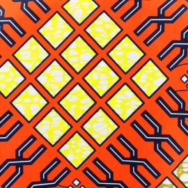 Tissu Wax - Taraji x 10cm