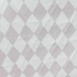 Tissu matelassé Color Arlequins - Rose  x 10cm