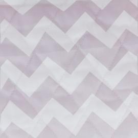 Tissu matelassé Color Chevrons - Rose  x 10cm