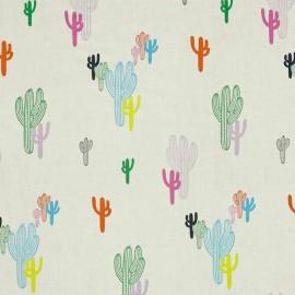 Tissu Alexander Henry Solo Saguaro -  Pastel x 20cm