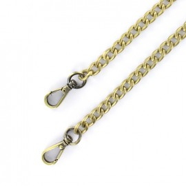 Bag-handle mesh chain M 120 mm - bronze x 1