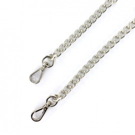 Bag-handle mesh chain M 120 mm - nickel x 1