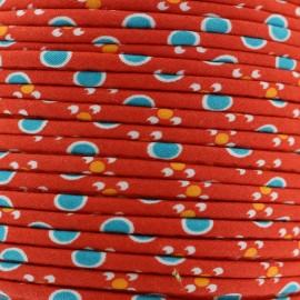 Petit Pan piping Tsukiko - red x 1m