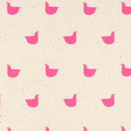 ♥ Coupon 170 cm X 110 cm ♥  Cotton fabric Cotton Steel Black and White -  Birds