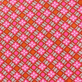 Petit pan cotton fabric Callune - pink x 10cm