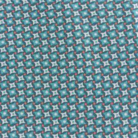 Tissu coton Petit Pan Bruyère - vert loch ness x 10cm