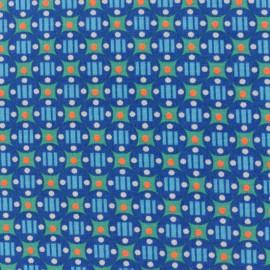 Tissu coton Oeko-Tex Petit Pan Stella - outremer x 10cm