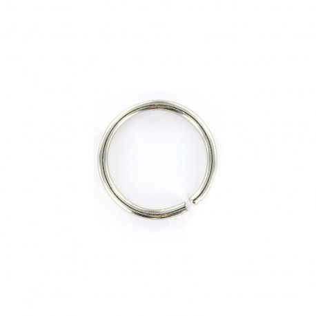 Not-joined ring 18mm - nickel x 1