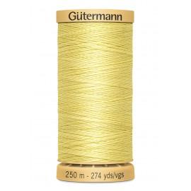 Bobine de Fil à coudre coton naturel Gutermann 250m - N°349