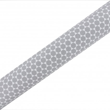 High Quality Adhesive fabric Pulsar - Grey (45cm x 250cm)