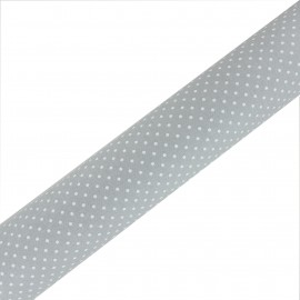 High Quality Adhesive Oeko- Tex fabric Plumetis - Grey (45cm x 250cm)