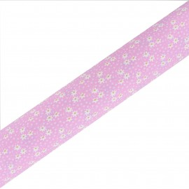 High Quality Adhesive Oeko- Tex fabric Midinette - Pink (45cm x 250cm)